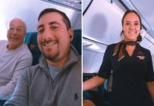 A Flight Attendant's Dad Finds a Way to See Her on Christmas